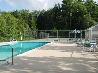 North Conway condo photo - Nice in ground pool with tennis courts right in back yard..