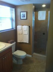 Indian Rocks Beach condo photo - Master bath