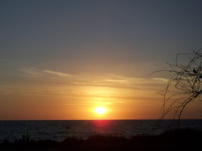 Sunset along Floridas SUN COAST.