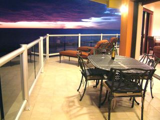 Puerto Penasco condo photo - Glass of wine at sunset rounds out another perfect day at the beach!