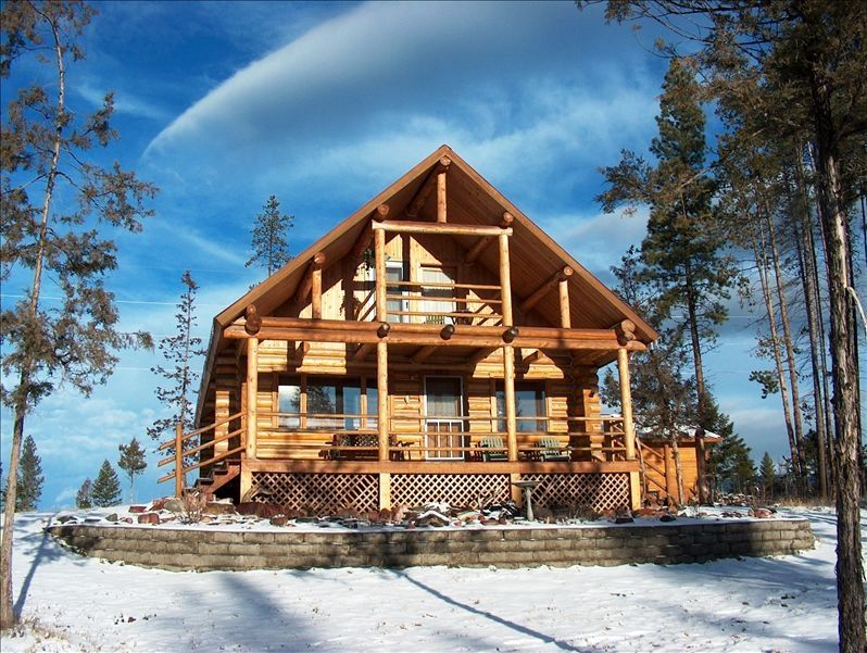 Cozy cabin in seeley lake vrbo for Cozy cabins rentals