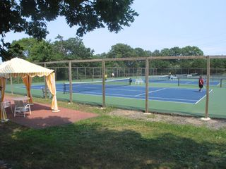 Brewster Ocean Edge Resort townhome photo - The tennis courts