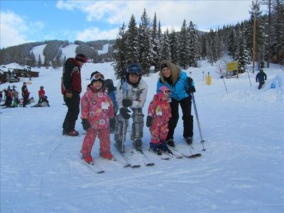 Skiing at Big Mtn is a family affair