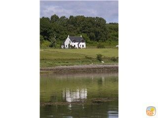 Seabank Farmhouse from the loch