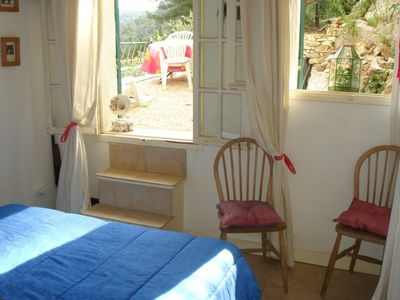 Location vacances maison Collias: Appartement d'1 chambre (bas) - Chambre
