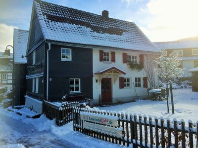 Very cosy frame house in idyllic, central located farming village