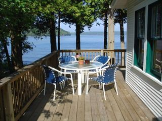 Ellison Bay cottage photo - Our outdoor living room!