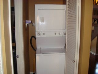 Orange Beach townhome photo - Washer & Dryer!