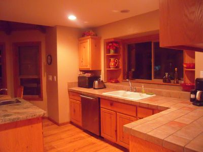Prescott chalet rental - Gourmet Kitchen in Back Chalet