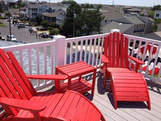 Bethany Beach house photo - New Rooftop deck furniture!