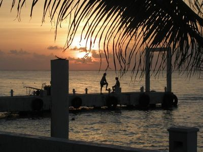Cozumel house rental - Delight yourselves with magnificent sunsets
