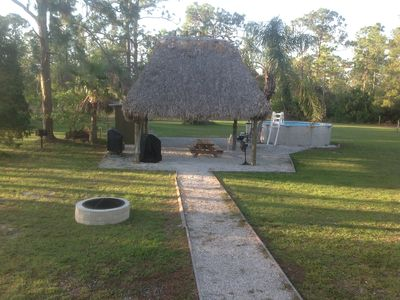 VACATION HOME with  RV's Spot with conections, Cabin,Tents field cable & WiFi
