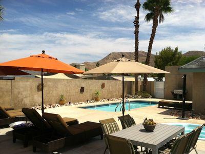 Palm Springs house rental - This Designer, Green Home combines Style and Comfort for your vacation enjoyment
