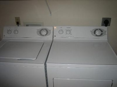 Private laundry in your unit #203, full size!