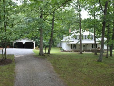 Winston-Salem farmhouse rental - Vintage Country Elegence in the heart of the Swan Creek Wine Trail