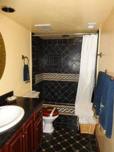 Dana Point condo rental - The Bungalow-Master bathroom