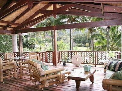 Outside covered Lanai (porch) - Outdoor living at it's finest with BBQ grill