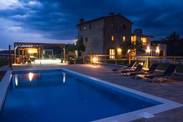 Self catering La Ribereta for 13 people
