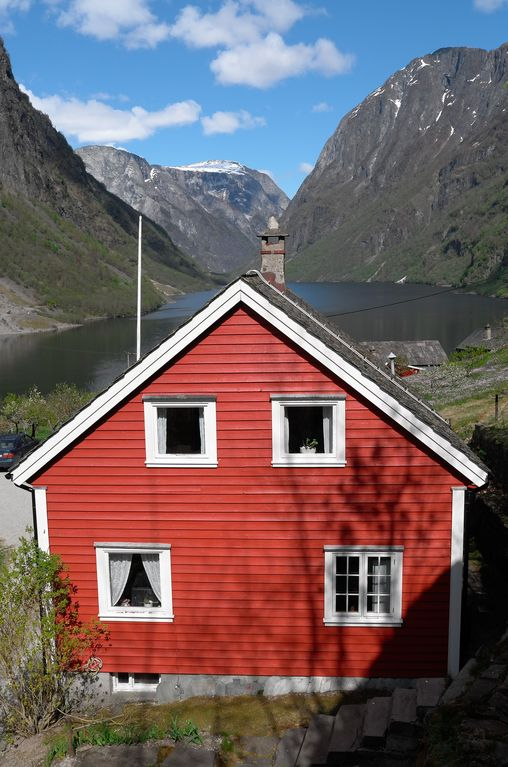 House with terrific fjord view