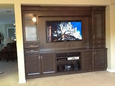 Entertainment unit with 55' LED, PS3, and Sony mini stereo