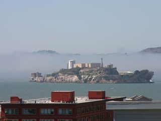 San Francisco apartment photo - Views from property - Alcatraz