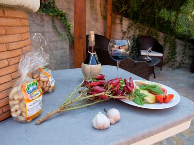 Villa Nuba holliday cottage rental in Perugia - The barbecue area