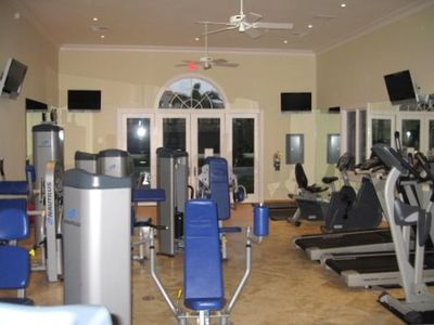 Get your daily workout in our well equipped gym