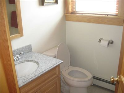 The CLEAN and spacious bathrooms.. 2 full baths are in this unit.