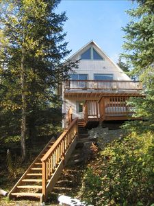 Steller Jay Chalet -3 levels; 2 living rooms; 2 baths; 3 bedrooms; two decks