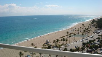 Fort Lauderdale condo rental - View from Balcony