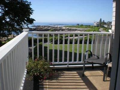 Smaller Second Floor Deck Facing Ocean