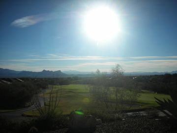 Oro Valley house rental - 8th hole facing west as seen from Clubhouse