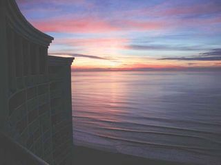 Sea Watch condo photo - Sunrise Taken from Main Balcony (December)