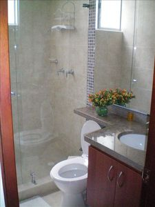 Modern Bathrooms with Hot water