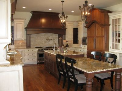 Extensive Kitchen Boasting Rutt Cabinetry, Viking, Sub Zero, Asko