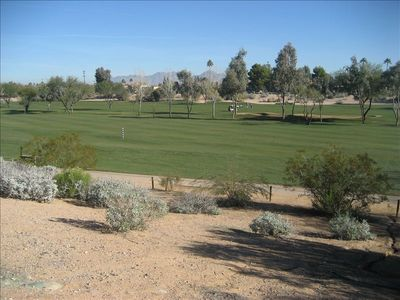 Silverado Golf Course by Greenbelt Path