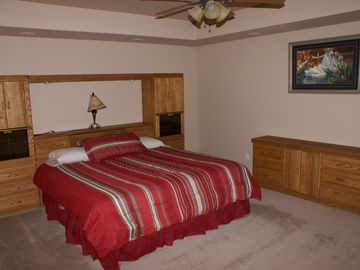 Master Bedroom. King Size Pillow Top.