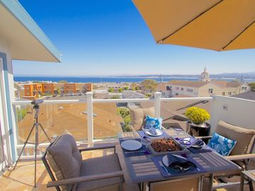 "Monterey condo rental - Welcome to ""The Hawthorne Penthouse""! Beautiful View of Monterey Bay."