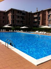 Livorno apartment photo - Olympic Size Pool With Mediterranean Sea Water