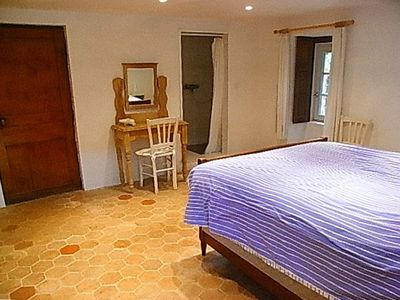 Double bedroom with en suite shower on ground floor
