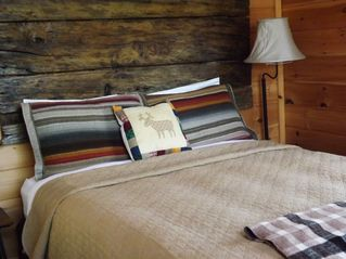 Bryson City cabin photo - Second Queen Bed with Luxury Linens and Mountain Views Surrounding You!