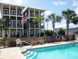 Silver Sands Beach house photo - Silver Sands and neighboring house, which is not rented.