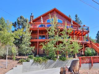 Luxury Big Bear Cabin Hot Tub Pool Tabl Vrbo