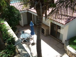 Cabo San Lucas condo photo - Private patio & BBQ off the living & dining room & master bedroom.