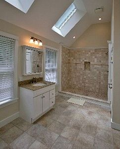 Downstairs Master Bathroom