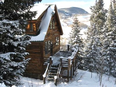 Close to heaven in crested butte colorado vacation rental for Crested butte cabins