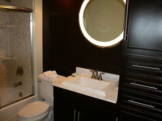 Waikiki condo photo - Beautiful Bathroom with Marble, Kohler Fixtures, a