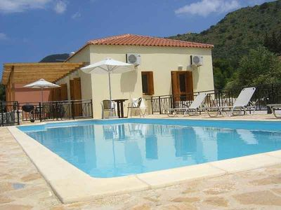 Almirida villa rental - Well appointed bungalow with private GATED POOL