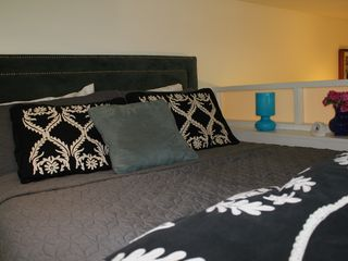 New Orleans studio photo - Queen bed in sleeping loft with ample head room for most people.