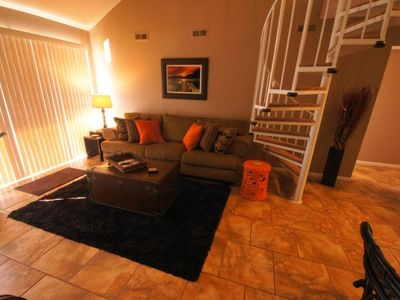 The condo is appointed with upscale Decor and Furnishings